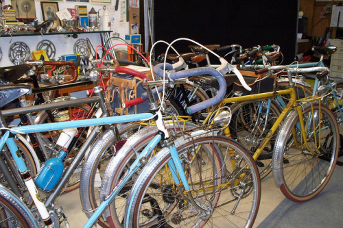 Frenchish Bikes at jpw's mini open house at the work shop… by jp weigle on Flickr.