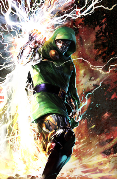 comicbookartwork:  Doctor Doom