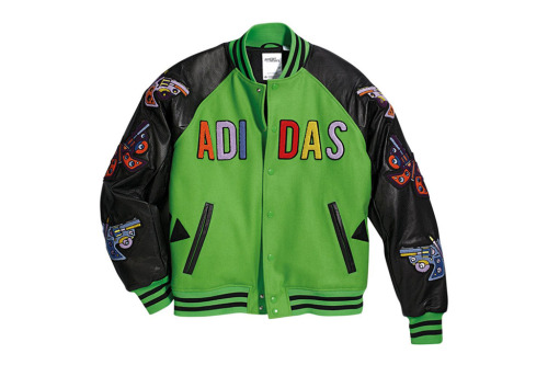 adidas Originals by Jeremy Scott 2012 Fall/Winter JS Varsity Jacket