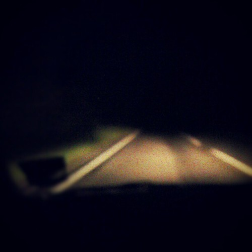 Late night drive (Taken with instagram)