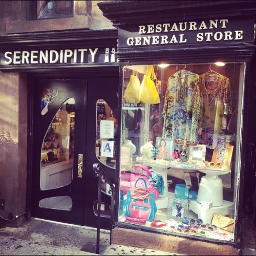 Dinner here. (Taken with Instagram at Serendipity 3)