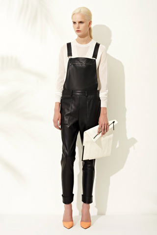 Are these leather overalls I see? 3.1 Phillip Lim Resort '13