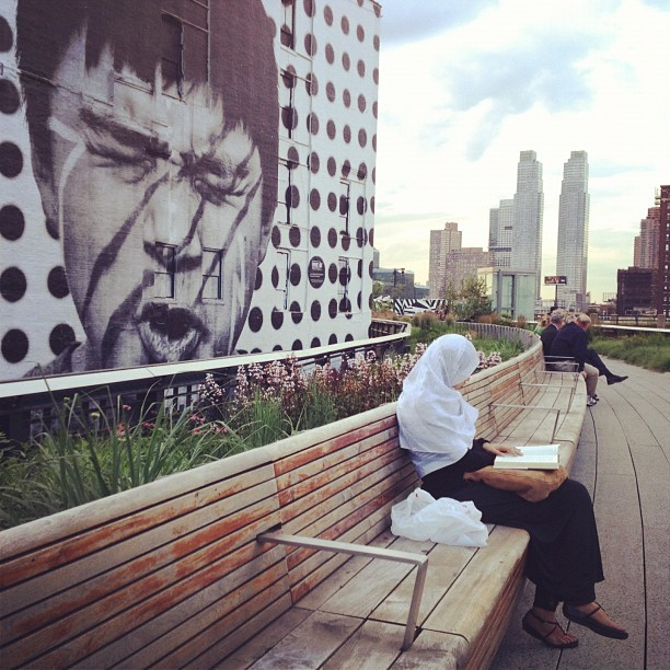 Life on The High Line #everydaylife #nyc #america #streetphotography  (Taken with instagram)