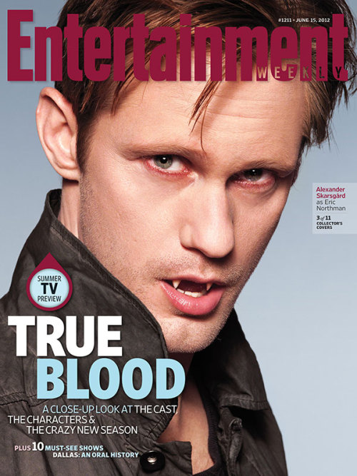 entertainmentweekly:  This Week's Cover: The cast, characters, and crazy new season of 'True Blood'