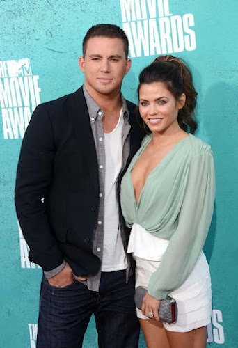 Jenna Dewan and Channing Tatum at MTV Movie Awards 2012- 15 Pics | Glam Girls & Cool Stuff on We Heart It. http://weheartit.com/entry/30042069