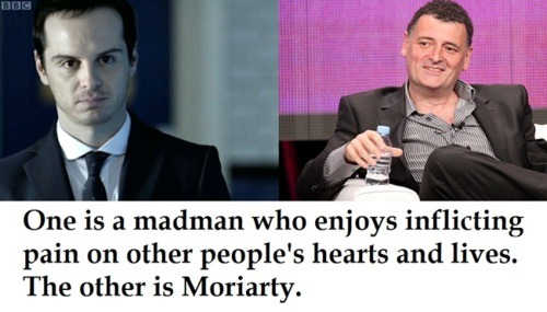 torchdexto:  steven moffat and moriarty.