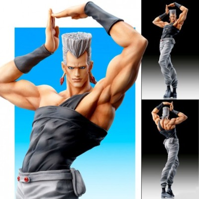 Polnareff from Jojo's Bizarre Adventure makes for the most metrosexual action figure ever. #art