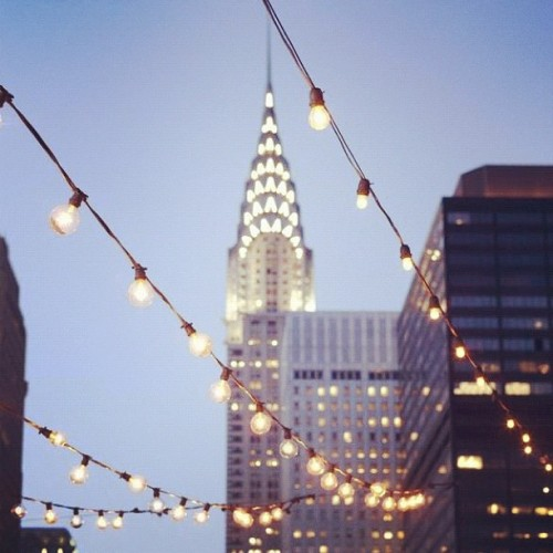 I've always been in love with the Chrysler building. It's such a gorgeous example of Art Deco.