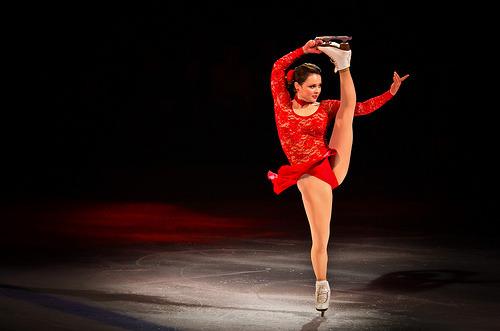 Sasha Cohen is amazing! :D