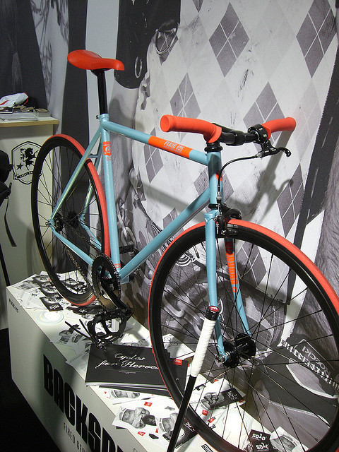 Eurobike 2009 – Fixie Inc by makzone73 / Marcello on Flickr.