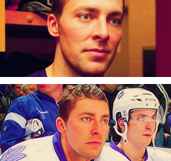 ⤷ the way you flip your hair gets me overwhelmed: Joffery Lupul
