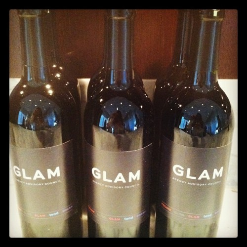 Glam Vino…Cheers to That  (Taken with instagram)