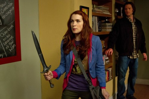 Charlie and Sam - Supernatural  (Felicia Day and Jared Padalecki)