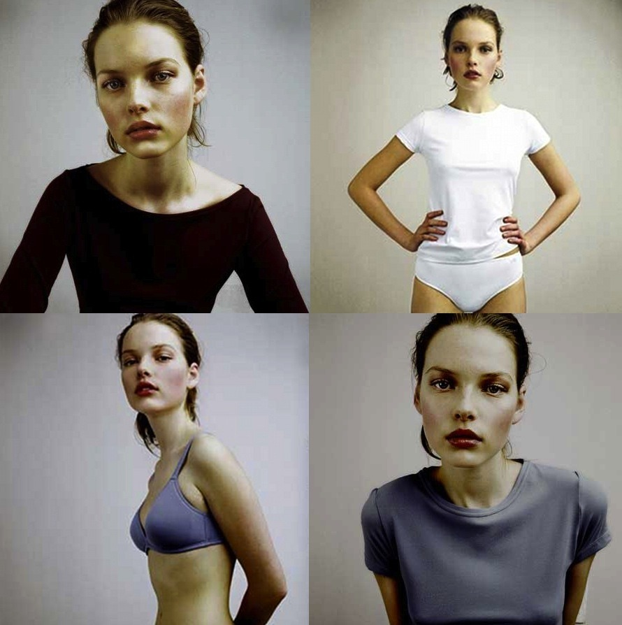 Polina Kouklina by Bela Adler and Salvador Fresneda for Princesa Fall 2003
