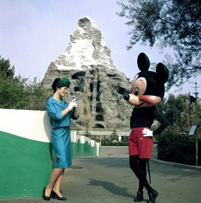 Vintage Disney day fashion.