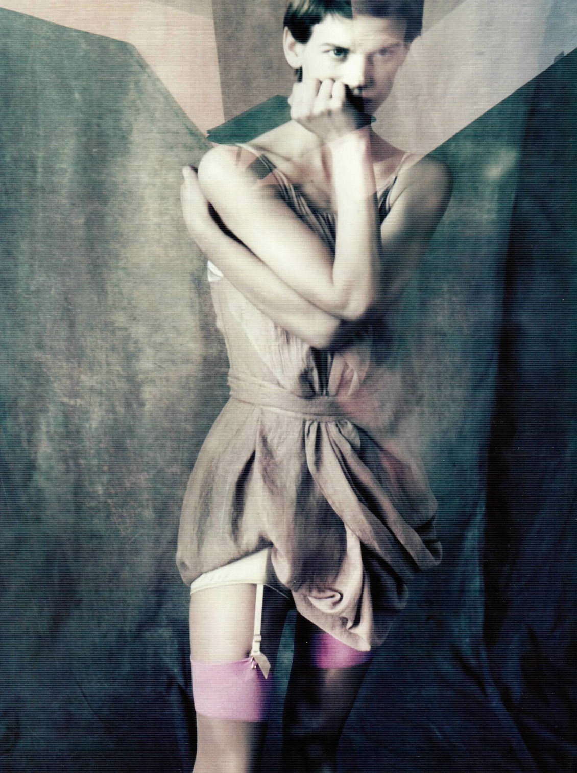 """In The Mirror"": Saskia de Brauw by Paolo Roversi for Vogue Korea May 2012"