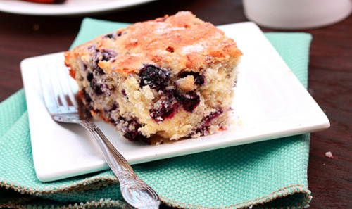 oohhhbaby:  blueberry buttermilk coffee cake