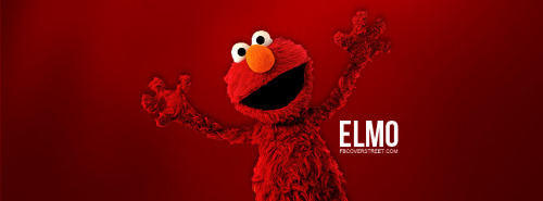 Elmo Sesame Street Facebook Cover