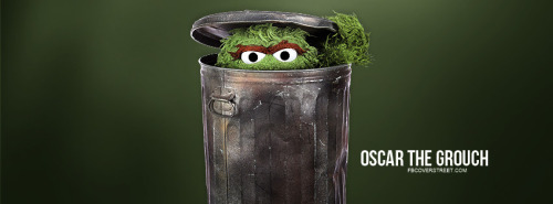 Oscar The Grouch Sesame Street Facebook Cover