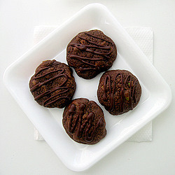 e-levated:  Dark Chocolate Cookies