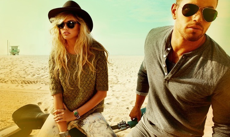 fashiondailymag:  kellan lutz and kate upton