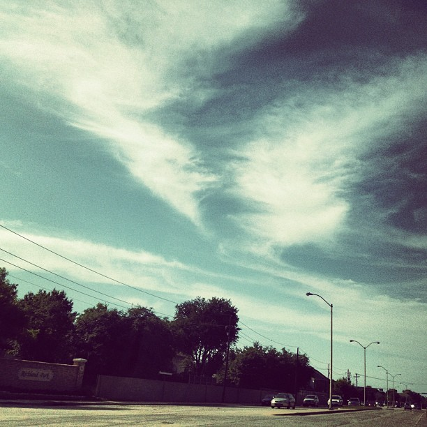 #photooftheday #cool #beautiful #rikfoto #photography #2012 #june #sky #tornado #street (Taken with instagram)
