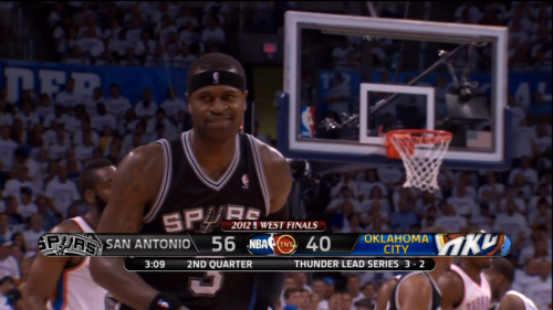 You guys, Stephen Jackson loves pressure. Like, he's in love with it. Turn on this game, and get some of this trill. (pic via @Jose3030)