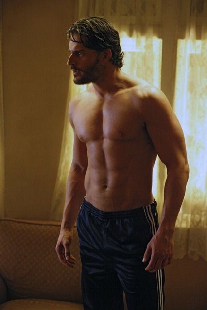 Is anyone else getting addicted to Joe Manganiello's muscled chest?
