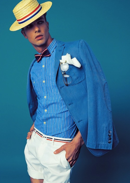 mensfashionworld:  Lucas Marcos by Sergi Jasanada for FHM Spain