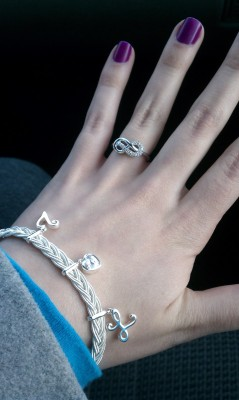 "What is this? This is my silver, diamond, infinity sign ring. This is my promise ring. My boyfriend gave it to me for our first year anniversary. Its symbolic meaning has meant everything to me. I wore it sacredly; all day, every occasion, to sleep, and only took it off to prevent it from getting sticky with build up or when my hands would be in water for a long time. Just yesterday, I lost it. I left it on the mirror counter in the women's restroom at the Putnam dining hall at UConn. I had taken it off to fix the morning frizz in my hair with a little mousse. I placed it on this silver counter and said aloud to myself, ""I better not forget that."" I can't stop crying. I did all I could: searched the entire bathroom, asked the staff at the dining hall about it, asked all the orientation members if they'd seen it, searched all the buildings I went to on campus, and I even contacted the woman in charge of that dining hall's cleaning staff. I know my boyfriend isn't mad at me; I don't even think he's upset about it. He told me, ""It was an error; don't worry."" He basically said that it doesn't matter whether it's the first or second ring he gives me, the symbol of it will still mean the same thing. He loves me and plans on marrying me one day. I just can't get over the fact that I know every detail about this ring, right down to the factory engraving on the inside, and now someone else has it. Why would someone take it? It's clearly a ring made for lovers. And it was custom fit to my left ring finger. I'm so bare now. I just want my ring back."