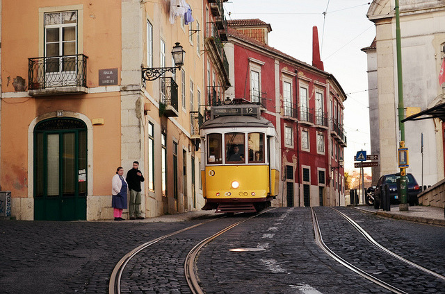 | ♕ |  Streetcar in Lisbon - Portugal  | by © Piero Damiani