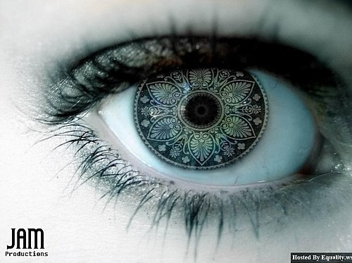 Eye art Follow me, guys <3