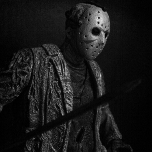 #horror #jasonvoorhees #jason #fridaythe13th #friday13 #scary #terror #thriller #kanehodder (Taken with instagram)