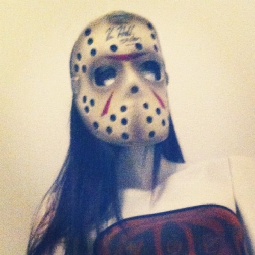 #scary #terror #thriller #jason #jasonvoorhees #friday13 #fridaythe13th  (Taken with instagram)
