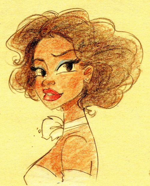 strictlyanimation: for me, tiana's concept art...