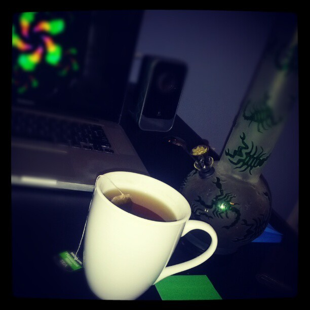 Tea and Mary Jane  (Taken with instagram)