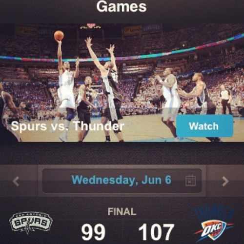 Welcome To The Finals! (Taken with instagram)