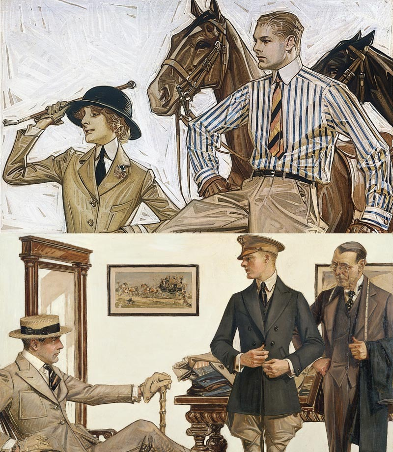 lostsplendor:  Formal Guises, J.C Leyendecker (via)