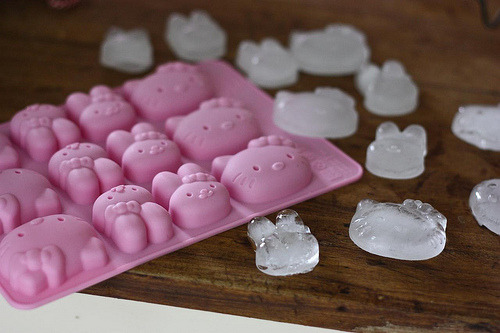 Hello Kitty Ice Cube Mold