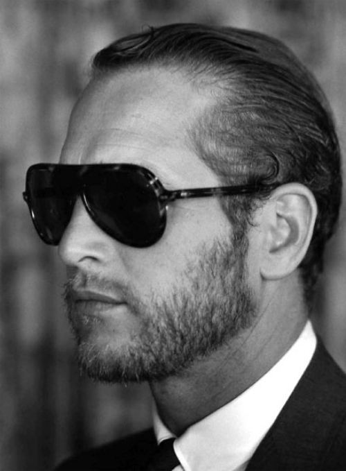 The shades, the beard, and the suit. tamburina:  Paul Newman