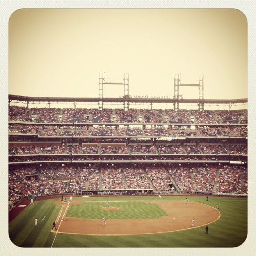 Phillies. ❤⚾ (Taken with Instagram at Citizens Bank Park)