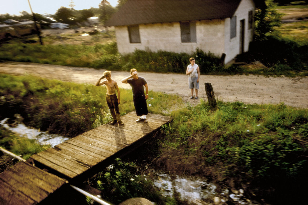 Paul Fusco.  1968.  Robert F. Kennedy Funeral Train. As many of you have probably realized, Postcards owes a huge debt to Paul Fusco's iconic RFK Funeral Train series.  Paul has just allowed two pictures from the series to be released as a benefit edition for the Magnum Foundation's legacy project, which supports work on the archives of older generations of documentary photographers.  It's an incredibly generous gesture by Paul, remarkable work, and an amazing opportunity for young collectors, so please be sure to check it out here and to spread the word.