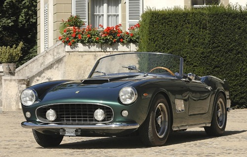 analogdialog:  1963 Ferrari 250GT California Spyder  WANT!