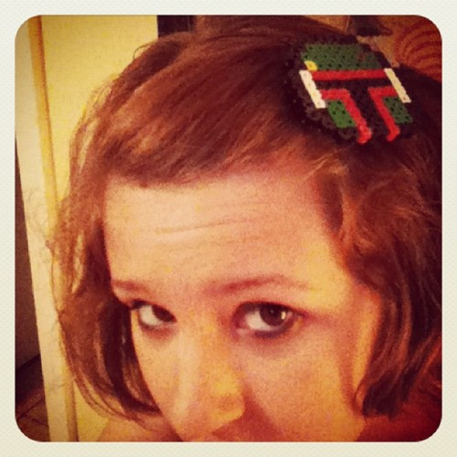 Boba fett hair clip by Phillip