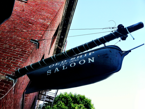 Any evening spent at the Old Ship Saloon is an evening well spent.