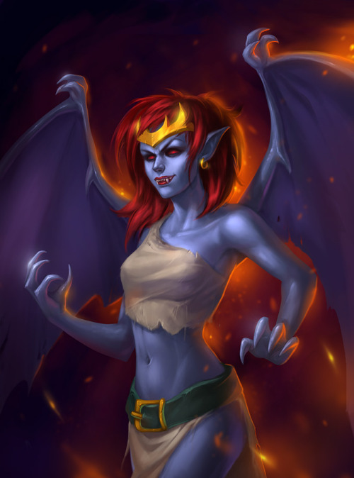 Demona by ~Vetrova
