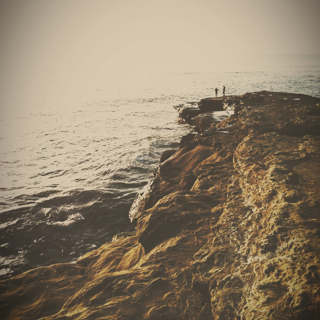 // sunset cliffs //