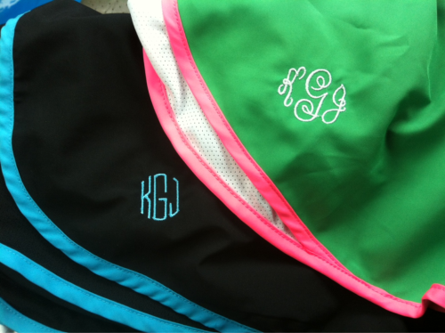TPP: Monograms and fitness.