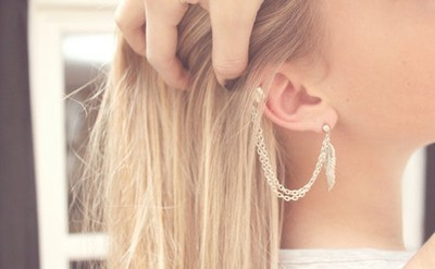 If I had another pierce ear hole I would do this. <3