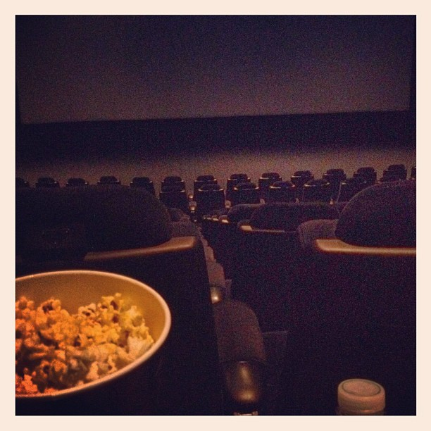 The whole theatre to myself - #movie #arclight #hollywood #la #losangeles  (Taken with Instagram at ArcLight Cinemas Hollywood)